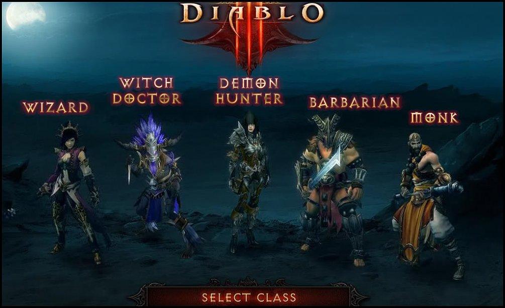 diablo 3 karakterleri